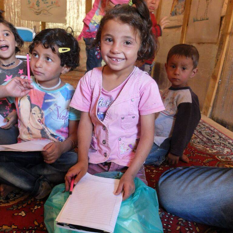 childrens education in North Syria 2