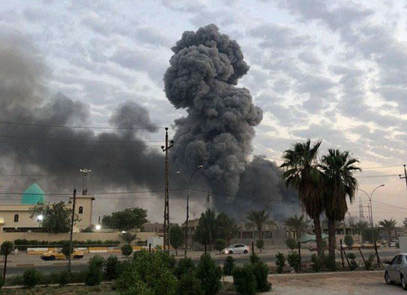 Iran Strikes on US base in Iraq