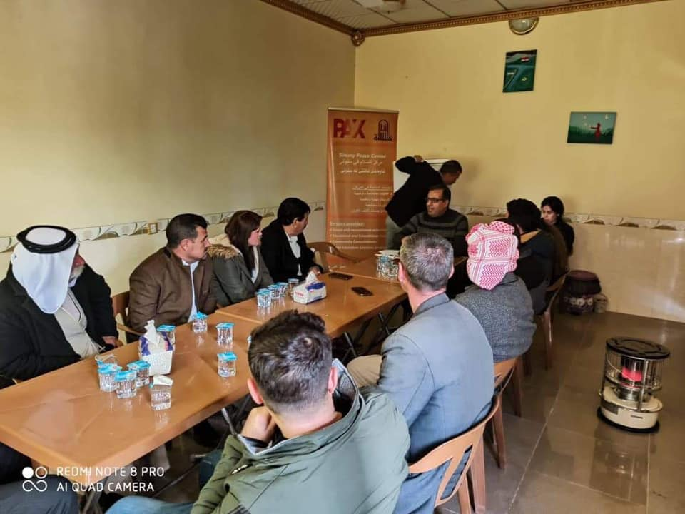 FGD in Iraq on behalf of Catalystas Consulting Study for PAX
