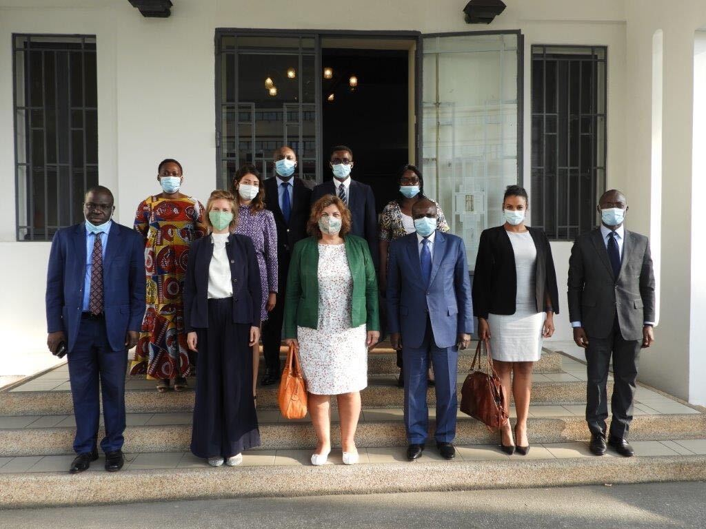 Dutch Ambassador and Ivorian Chamber of Commerce